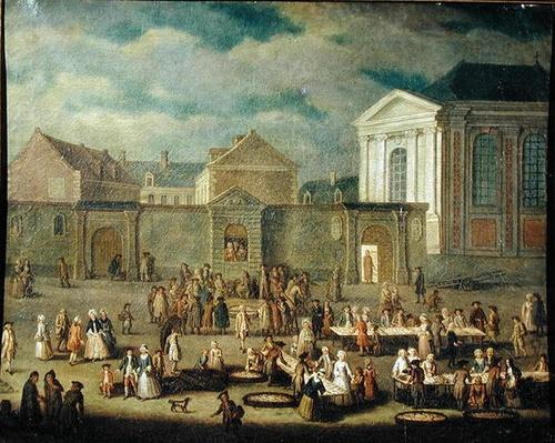 The Fish Market at Cambrai, 1778