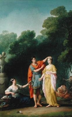 A Lover Crowning his Mistress, 1733