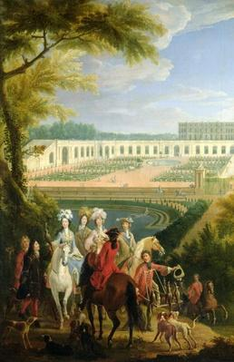 View of the Orangerie at Versailles, after 1697