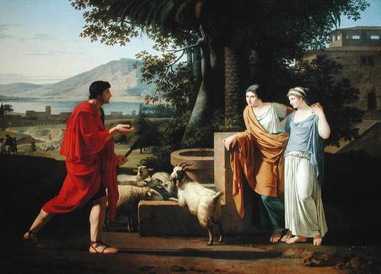 Jacob with the Daughters of Laban, 1787