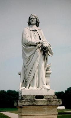 Statue of Jacques Benigne Bossuet