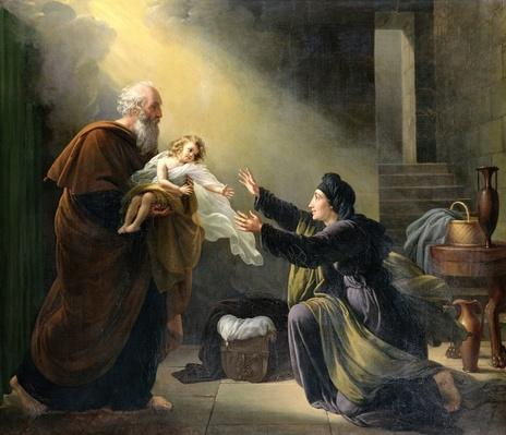 Elijah Resuscitating the Son of the Widow of Sarepta