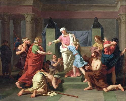 Joseph Recognised by his Brothers, 1789