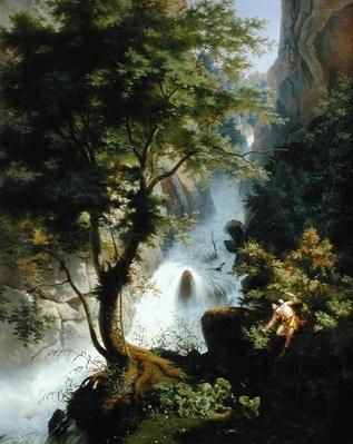 Hunter in the Apennines, 1822