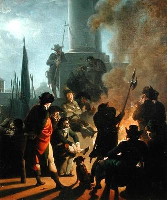 Revolutionary Scene: A Bivouac