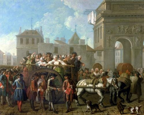Transport of Prostitutes to the Salpetriere, c.1760-70