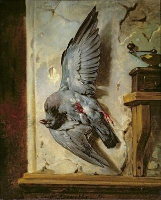 The Woodpigeon, c.1857