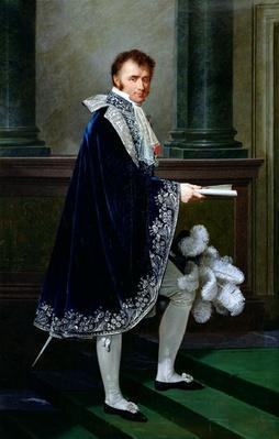 Portrait of Francois-Nicolas Mollien