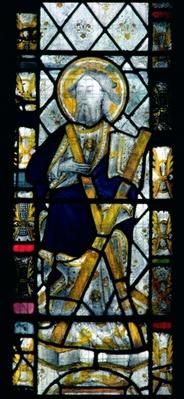 St. Andrew with Saltire Cross, British, 14th century