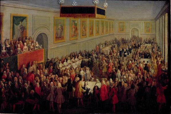 Feast given after the Coronation of Louis XV