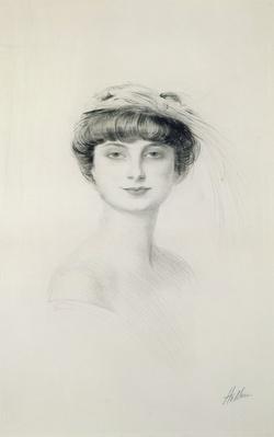 Portrait of Anna de Noailles