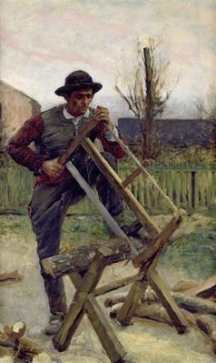 An Aragonese Woodcutter, 1876