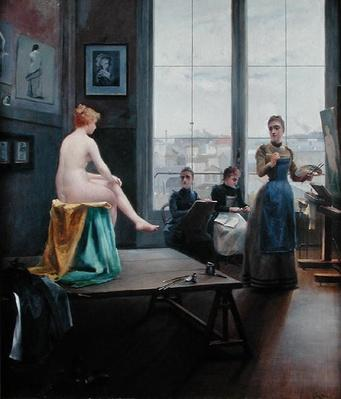 Studio with Young Women