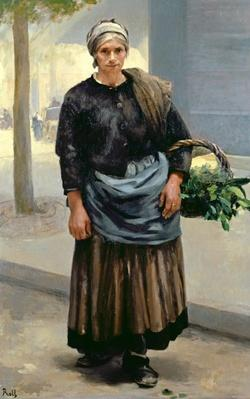 Marianne Orfrey, Vegetable Seller