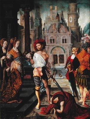 The Beheading of St. John the Baptist, 1525