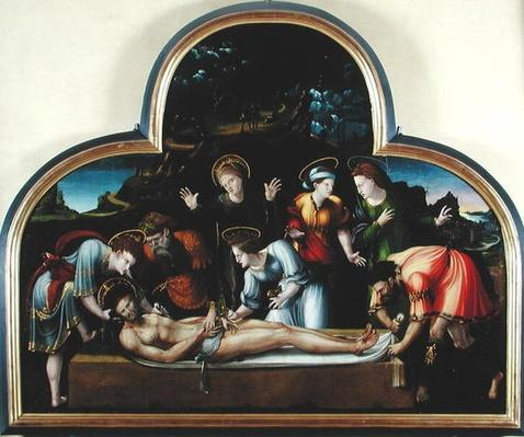 The Entombment or, The Virgin Swooning