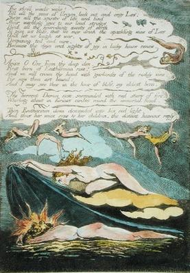 'The shrill winds wake...', plate 5 from 'Europe. A Prophecy', 1794