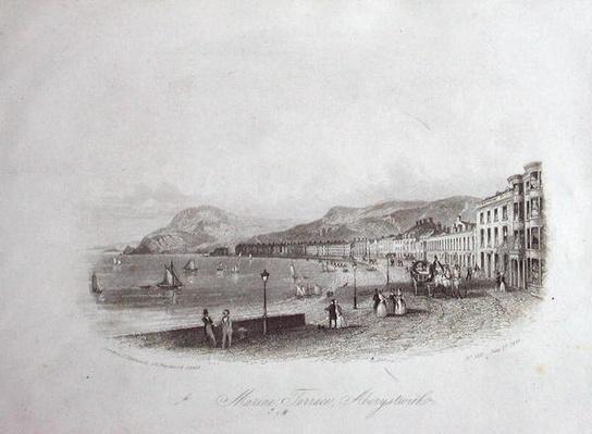 Marine Terrace, Aberystwyth, 1844