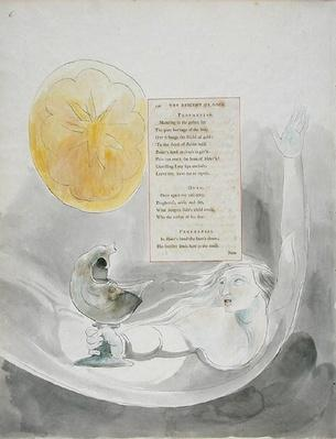 'The Descent of Odin', design 82 from 'The Poems of Thomas Gray'