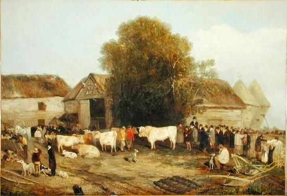 The Farm Sale, 1820