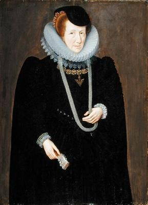 Portrait of a Woman, probably Eleanor Packington, Lady Scudamore, 1601