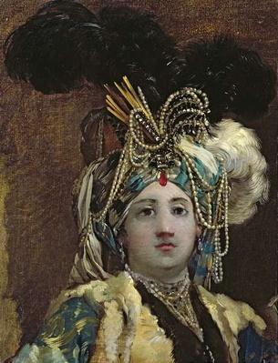 A Sultana, 1748
