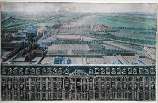 West Facade of the Place Louis-Le-Grand and the Faubourg Saint-Honore, c.1705