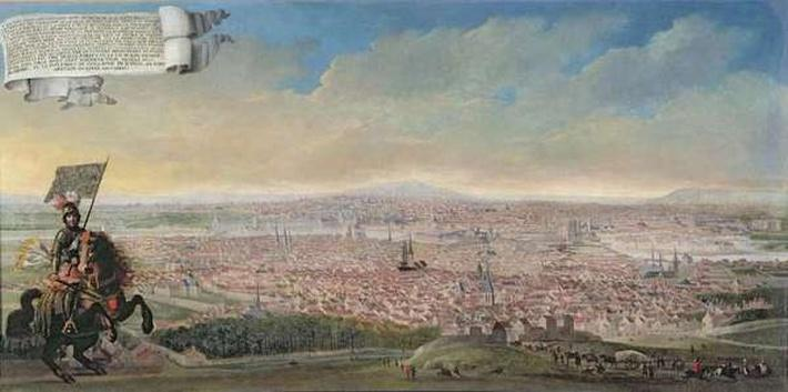 General View of Paris from the Faubourg Saint-Jacques, c.1640