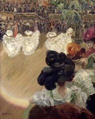 Quadrille at the Bal Tabarin