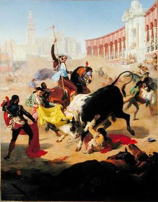 Bullfighting, 1846