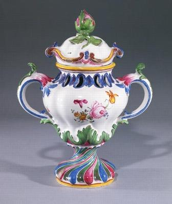 Pot-pourri Vase, made in Strasbourg, c.1754-60