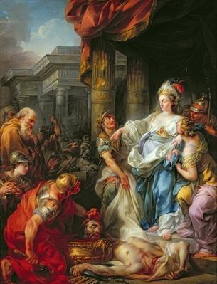 The Beheading of Cyrus II