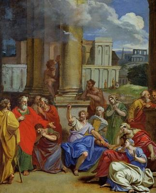 The Prophet Agabus Predicting St. Paul's Suffering in Jerusalem