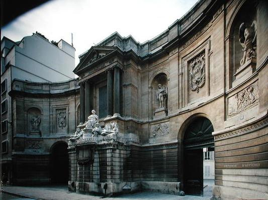 The Fontaine des Quatre Saisons, Rue de Grenelle, built 1739-46