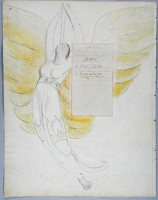 'Epitaph on Mrs. Clarke', design 102 from' The Poems of Thomas Gray', 1797-98