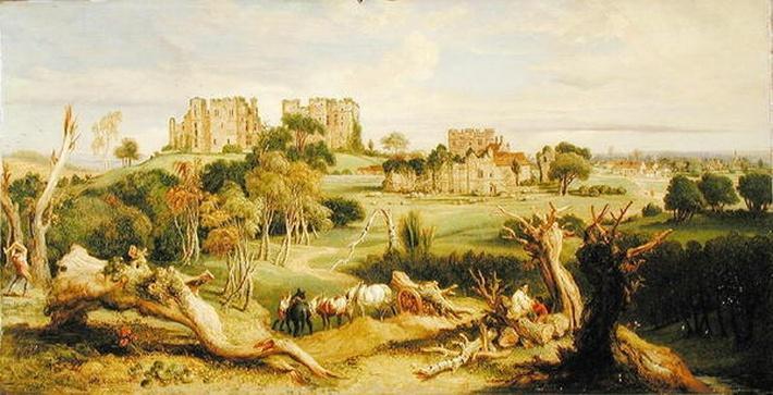 Kenilworth Castle, Warwickshire, 1840