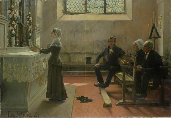 Offering to the Virgin the Day After the Wedding, 1885