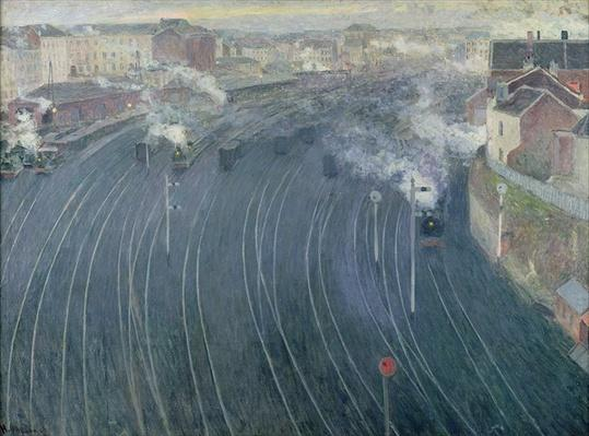 Luxembourg Station, Brussels, 1903