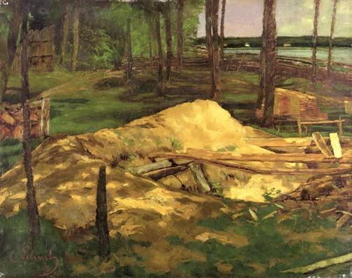 Sawdust Pit, 1876