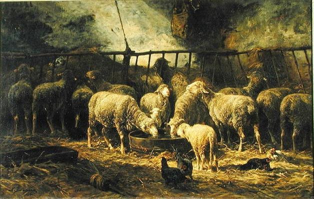The Large Sheepfold, 1881