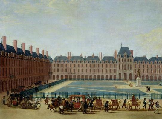 The Place Royale with the Royal Carriage, c.1655