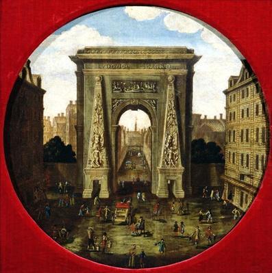 The Porte Saint-Denis