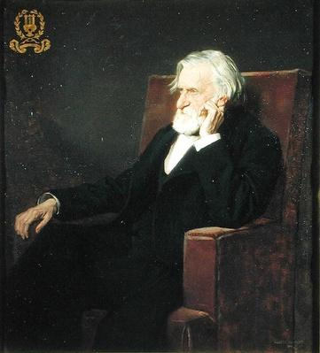 Portrait of Ambroise Thomas