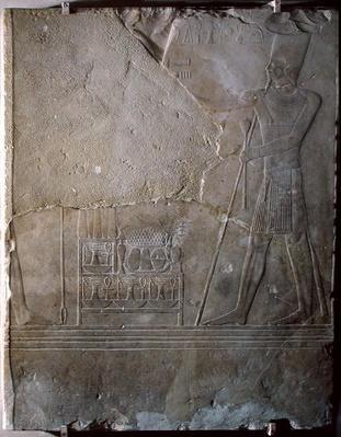 Relief depicting Mentuhotep III
