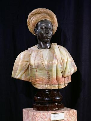 Bust of a Sudanese Man, 1857