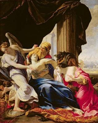 The Death of Dido, 1642-43