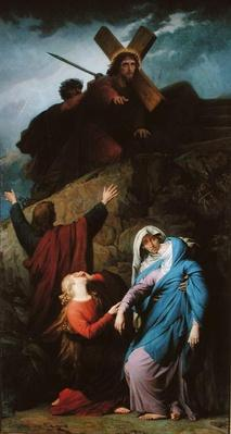 The Virgin of Calvary, 1861