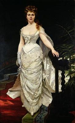 Portrait of Mademoiselle X, 1873
