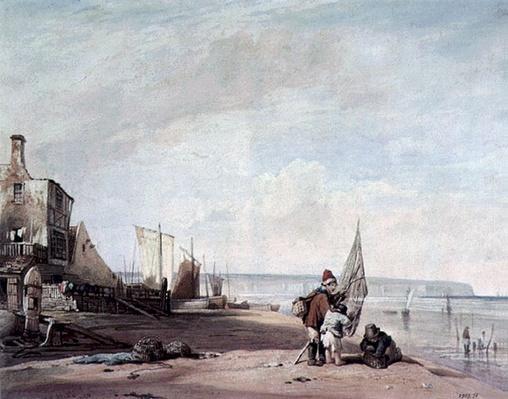Juvenile Shrimpers, Deal, 19th century