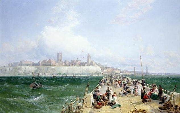 A View of Margate from the Pier, 1868